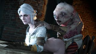 Ciri SFM with monster