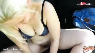 Hot outdoor fuck and facial - Daddys Luder