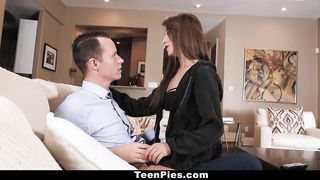 TeenPies - Hot Brunette Teen Isabella Nice Gets Creampied