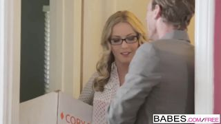 Babes - Office Obsession - One Last Goodbye starring Ryan McLane and Karla Kush