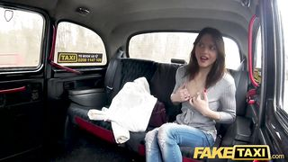 HD Free Porn Fake Taxi - Hard fucking rocks taxi cab with tight pussy petite French fox - Rachel Adjani