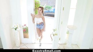Extra Small - Small Teen With Nice Ass Gets All Of Her Holes Filled - Isabella Nice - Small sized girl latina - HD