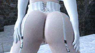 Elsa Booty AssSFM frozen 3D