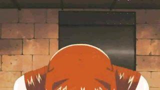 Redhead hentai mom fuk her step son