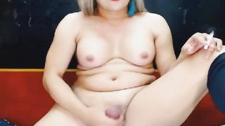 Gorgeous Shemale with a Hot Flawless Dick and Balls