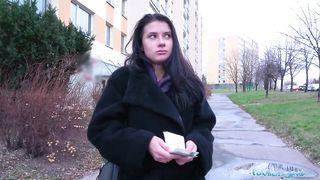 Public Agent - Big dick fucks sexy Russians perfect body for cash -  Nicole Black
