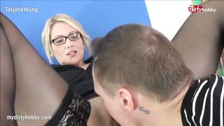 Tatjana Young - German Sexy Blonde in Stocking have great sex