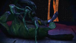 DOA VS ALIEN XENOMORPH SFM 2019 - Bug Hunt - KleinVoimond