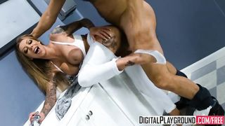 Digital Playground - Hold the Moan Part 1 - Danny Mountain and Karma RX - HD [720p]