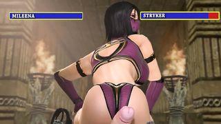 Mileena VS Stryker Mortal Kombat SFM Porn