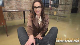 Amirah Adara - Sexy Glasses Porn Video