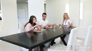 TABLE MANNERS 2017 - Cherie Deville, Jojo Kiss, Justin Hunt - HD 720p