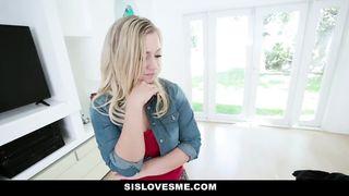 Sis Love Me - Cute Blonde Step Sister Rides Step Bros Cock - Bailey Brooke - HD 720p