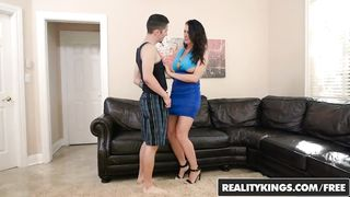 Reagan Foxx mom son porn video xxx