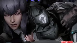 3D Ghost in the Shell SFM Porn Motoko Kusanagi Sex Video Compilation June 2018