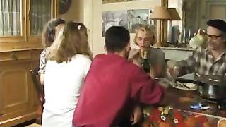 Funny family porno