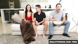 Step mom and step son fucking near step father - Sofi Ryan, Brad Knight