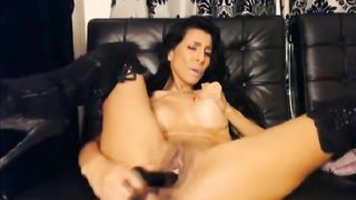 Beautiful Latina Masturbates Her Tight Cunt