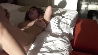 Big tits Japanese babe hard fuck uncensored