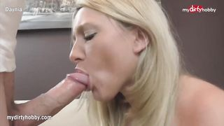 Daynia Pussy Fuck - Quick afternoon fuck and facial - HD 720p