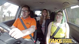 Fake Driving School Isabel Dean HD 720p