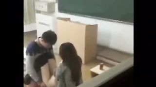 Chinese Student Fucking in School.