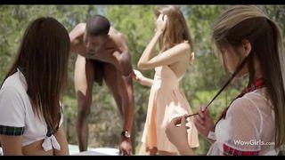 Happy Nigga and Gina Gerson, Anina Silk, Felicia Clover - Full XXX Movie HD 720p