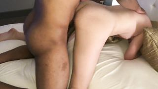Young 18 years schoolgirl fucked by BBC