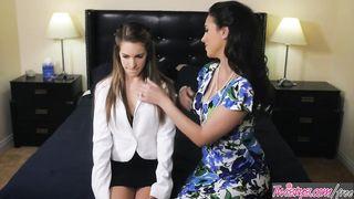 Mom and Daughter Lesbians - Jelena Jensen, Kimmy Granger - HD