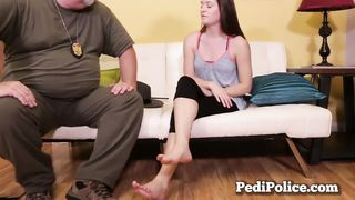Amber Mae Foot Fetish Porno