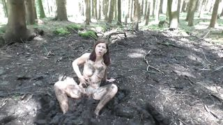 HD Slut Petra Dirty Mud 2018