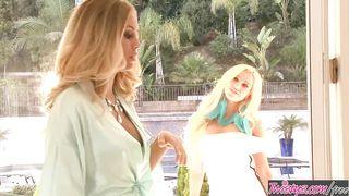 Teen blonde lesbians - Nicole Aniston, Spencer Scott - HD 720p