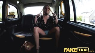 Fake Taxi Squirting Blonde Fingered and Fucked by Big Cock Cab Driver HD 720p
