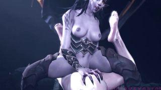 New SFM The Witcher 2018 Ciri Rape HD 1080p