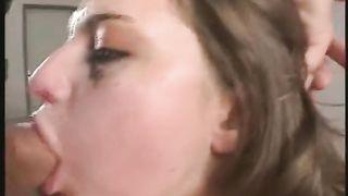Rough deepthroat sex
