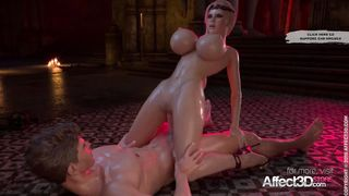 3DCG Futanari 2018 Bloodlust Cerene - Royal Descent 1080p