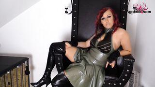 German Mistress Dirty Talks Femdom