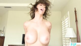 FILF.COM - Big Tits Stepmom Uses Stepson For Sex -  Alexis Fawx - HD 720p