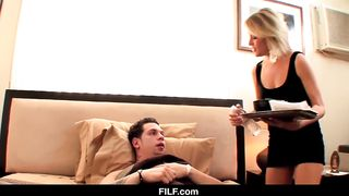 FILF Wake Up Son! I Need YOUR DICK - Jessie Fontana - HD 720p