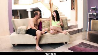 FILF - Family Brother and Sister XXX - Aubrey Lee - HD 720p