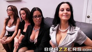 Keiran Lee Boss Foursome in Office Brazzers HD 720p