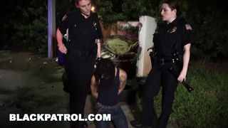 Cop threesome best video