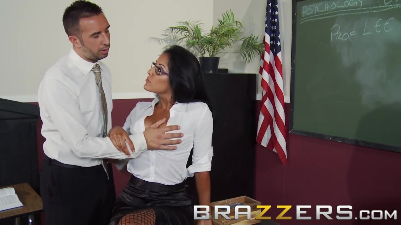 Latina Student Fucks Teacher