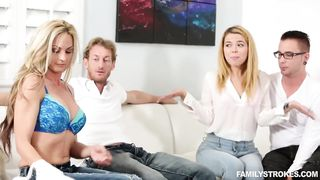 New 2018 Alina West Family Strokes Porn Game Night HD 720p