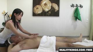 Reality Kings - Hot Asian Teen gives Older Man a Happy ending - Asia Zo - HD 720p