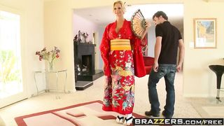 Geisha Porn Videos In Kimono 2010 Welcum My Geisha - Brooke Brand & James Deen - HD 720p