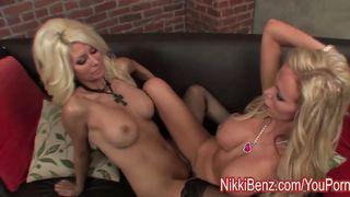 Canadian Lesbians private show - Nikki Benz - HD 720p