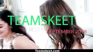 The Best OF TeamSkeet Girls September 2018 - HD 720p