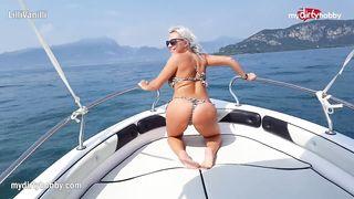 Summer sex on a boat - Lilli Vanilli - HD 720p