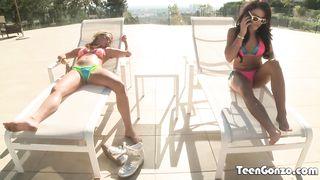 Gonzo teen movies 3some 2018 - Adriana Chechik,Carter Cruise - HD 720p